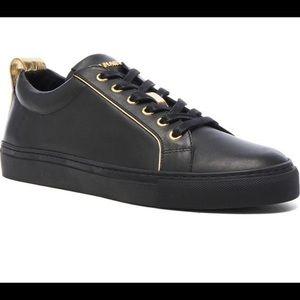 AUTHENTIC BALMAIN men's low top black sneaker